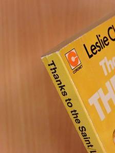 Leslie Charteris - Thanks to the Saint [antikvár]