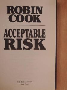 Robin Cook - Acceptable Risk [antikvár]