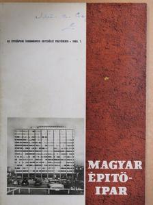Dr. Sebestyén Gyula - Magyar Építőipar 1965/7. [antikvár]