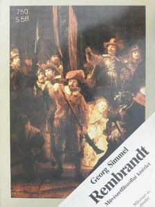 Georg Simmel - Rembrandt [antikvár]