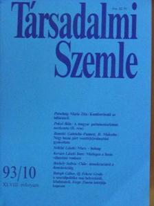 Balogh Gábor - Társadalmi Szemle 1993. október [antikvár]