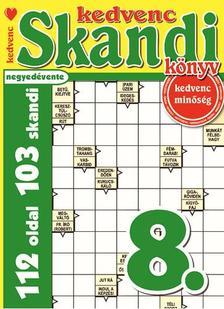 CSOSCH KIADÓ - Kedvenc Skandi Könyv 8.