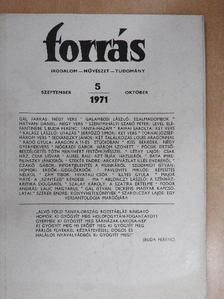 Ablonczy László - Forrás 1971. szeptember-október [antikvár]