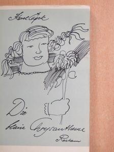 Karel Capek - Die blaue Chrysantheme [antikvár]