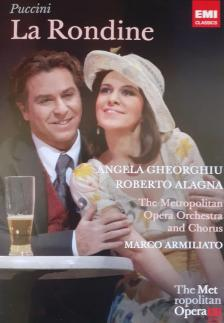 Puccini - LA RONDINE DVD GHEORGHIU, ALAGNA, ARMILIATO, THE METROPOLITAN OPERA
