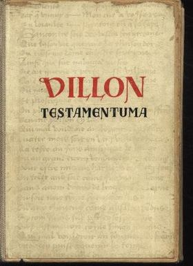 Villon Books Kft. - Villon testamentuma [antikvár]
