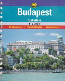 Cartographia Kiadó - Budapest zsebatlasz 1:25 000 [antikvár]
