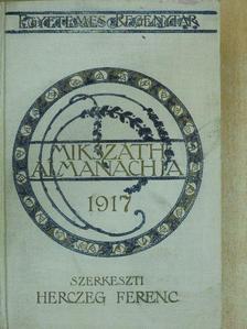 Balla Ignác - Mikszáth Almanach az 1917-ik évre [antikvár]