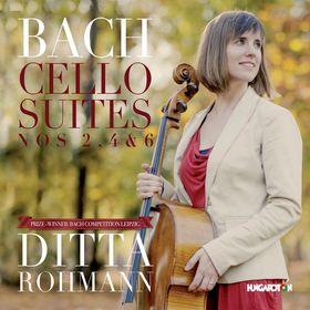 Bach - CELLO SUITES NOS.2,4 & 6 ROHMANN DITTA CD