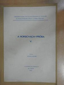 Mérei Ferenc - A Rorschach-próba V. [antikvár]