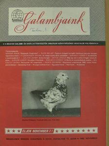 Bucsi Bálint - Galambjaink 1985. november [antikvár]