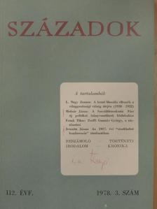 Ács Zoltán - Századok 1978/3. [antikvár]