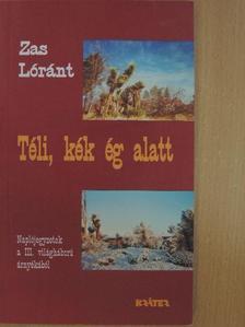 Zas Lóránt - Téli, kék ég alatt [antikvár]