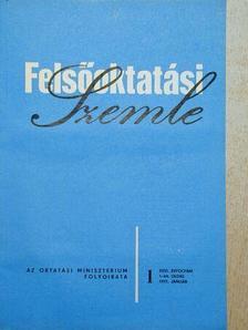 Bódi Andrásné - Felsőoktatási Szemle 1977. január-december [antikvár]
