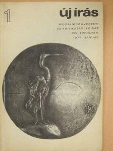 Apáti Miklós - Új Írás 1974. január [antikvár]