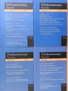 Ágh Attila - Politikatudományi Szemle 2011/1-4. [antikvár]