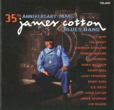 JAMES COTTON - 35TH ANNIVERSARY JAM OF THE JAMES COTTON BLUES BAND CD
