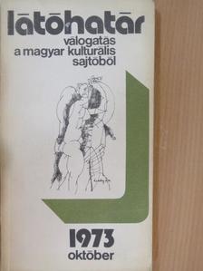 Bata Imre - Látóhatár 1973. október [antikvár]