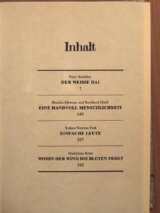 Bernhard Diehl - Der Weisse hai/Eine handvoll menschlichkeit/Einfache Leute/Wohin der wind die blüten trägt [antikvár]
