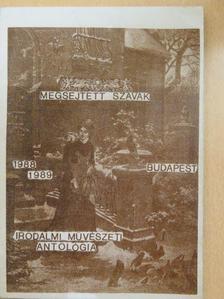 Bencze József - Megsejtett szavak (dedikált példány) [antikvár]