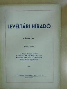 Borsa Iván - Levéltári Híradó 1956. különszám [antikvár]
