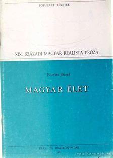 Eötvös József - Magyar élet [antikvár]