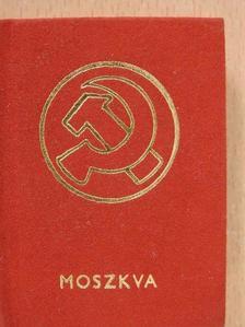 Alexandr Puskin - Moszkva (minikönyv) [antikvár]