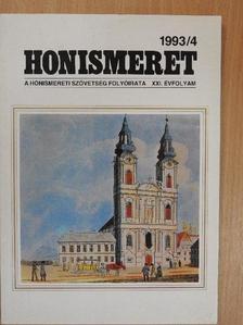 Balassa Iván - Honismeret 1993/4. [antikvár]