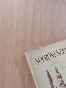 Alföldy Géza - Soproni Szemle 1961/4. [antikvár]