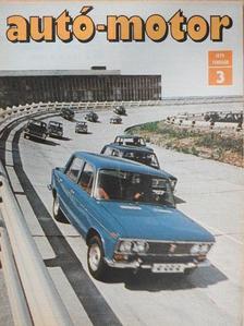 Almássy Tibor - Autó-Motor 1979. február [antikvár]