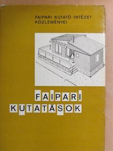 Arató István - Faipari kutatások 1971 [antikvár]