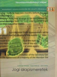 Czenczer Orsolya - Jogi alapismeretek [antikvár]