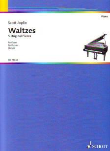 JOPLIN, SCOTT - WALTZES, 5 ORIGINAL PIECES FOR PIANO (BIRTEL)