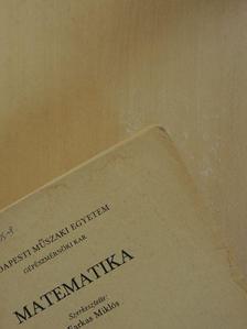 Farkas Miklós - Matematika III. [antikvár]