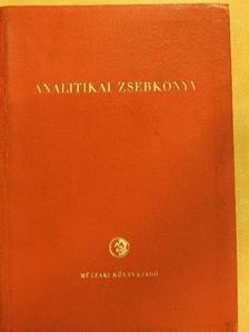 Bányai Éva - Analitikai zsebkönyv [antikvár]