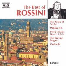 ROSSINI - THE BEST OF ROSSINI CD