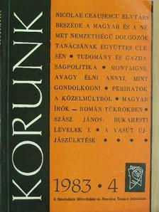 Árkosi Csaba - Korunk 1983. április [antikvár]