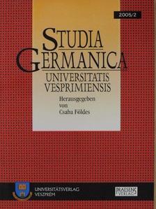 Karl Vajda - Studia Germanica Universitatis Vesprimiensis 2005/2 [antikvár]