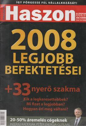 Fülöp Norbert - Haszon 2008/02 [antikvár]
