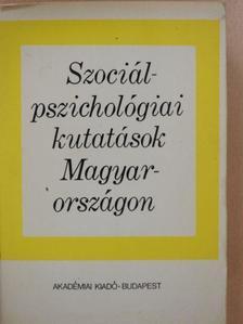 Buda Béla - Szociálpszichológiai kutatások Magyarországon [antikvár]