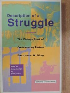 Bora Cosic - Description of a Struggle [antikvár]