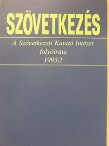 Galambosné Bögi Zsuzsa - Szövetkezés 1993/1. [antikvár]