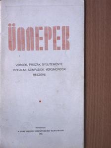 Antalfy István - Ünnepek [antikvár]