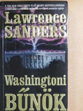 Lawrence Sanders - Washingtoni bűnök [antikvár]