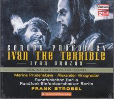 PROKOFIEV - IVAN THE TERRIBLE,CD FRANK STROBEL