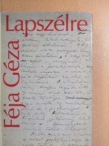 Féja Géza - Lapszélre [antikvár]