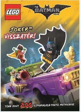 LEGO Batman - Joker visszatér / matricás foglalkoztató