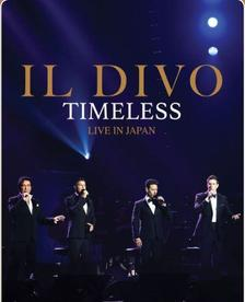 IL DIVO - TIMELESS LIVE IN JAPAN - DVD