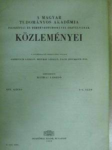 B. M. Kedrov - A Magyar Tudományos Akadémia Filozófiai és Történettudományi Osztályának közleményei 1968/2-3. [antikvár]