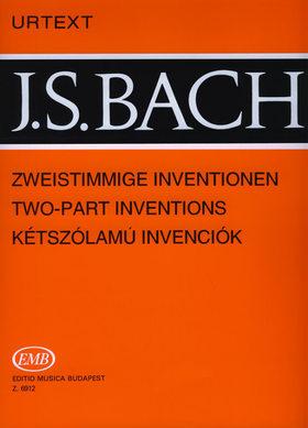 J. S. Bach - KÉTSZÓLAMÚ INVENCIÓK BWV 772-786 ZONGORÁRA URTEXT (SOLYMOS PÉTER)